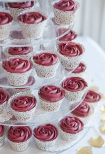 Fine dining cupcakes